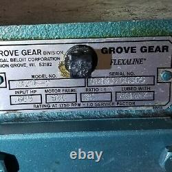 Marathon Electric 56T17F2036B P 1/2 HP Motor With GROVE 251 GEARBOX