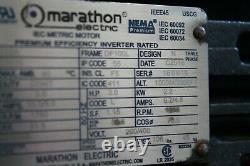 Marathon Electric Metric Motor R352A 100LTFC6536 4HP 1800RPM 230/460V 3PH