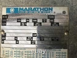 Marathon WA 324TTDC7026AA Electric Motor 40 HP 230/460V 3 PH 1745 RPM #7125DK