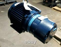 NEW MAGNETEK 2 HP AC ELECTRIC MOTOR With CLUTCH & BRAKE 460 VAC 3 PHASE 213T FRAME