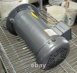 NEWithREBUILT BALDOR 3 HP ELECTRIC MOTOR 208-230/460 VAC 182TC 3Ø 1750 RPM VM3611T