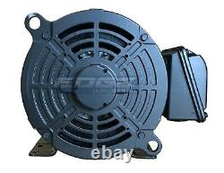 New 5 HP 184t 3 Phase Weg Electric Motor Air Compressor 3600 RPM 208-230/460