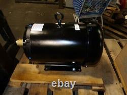 New Baldor 10 HP Ac Electric Motor 256tc Frame 208-230/460 Vac 1175 RPM Tefc