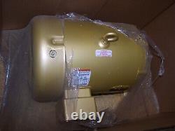 New Baldor 10 HP Electric Ac Motor 208-230/460 Vac 3490 RPM 215t Frame Tefc