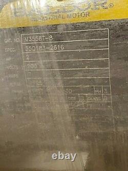 New Baldor 2 HP Electric Motor 200v 1725 RPM 3 Phase 145t Frame M3558t-8