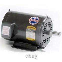 New Baldor 3 HP Electric Motor 208-230/460 Vac 3 Phase 56/56h 3450 RPM M3158