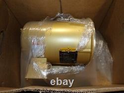 New Baldor 5 HP Ac Electric Motor 182tc Frame 208-230/460 Vac 3450 RPM Opsb
