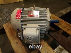 New Ge 5 HP Ac Electric Motor 184t Frame 230/460 Vac 1750 RPM 3 Phase Te