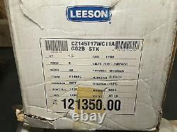 New Leeson 121350.00 CZ145T17WC11A Washguard II 1.5HP 1740RPM 3PH Electric Motor