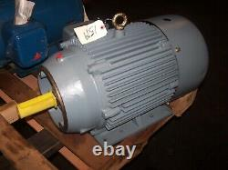 New Leeson 15 HP Ac Electric Motor 254tc Frame 230/460 Vac 1770 RPM Tefc