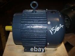 New Leeson 3 HP Ac Electric Motor 182t Frame 3500 RPM 230/460 Vac Tefc
