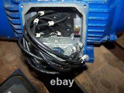 New Leeson 7.5 HP Ac Electric Motor 213t Frame 208-230/460 Vac 3510 RPM Tefc