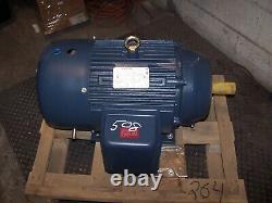 New Marathon 15 HP Ac Electric Motor 254tc Frame 208-230/460 Vac 1770 RPM Tefc