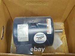 New Marathon 5 HP Electric Ac Motor 208-230/460 Vac 1755 RPM 184t Frame 3 Ø