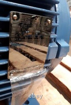 New Quality WEG ET W21 5HP 3.7kW 975RPM 6-Pole Severe Duty Electric Motor 213TZ