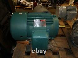 New Reliance 15 HP Ac Electric Motor 254t Frame 230/460 Vac 1750 RPM Tefc 3 Ph