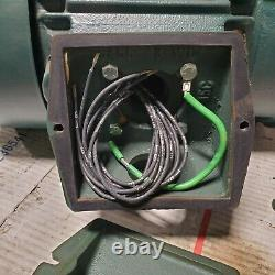 New Reliance Xe 3 HP Electric Motor 230/460 Vac 3 Phase 1755 RPM 182tc Frame