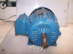 New Weg 2 HP Ac Electric Motor 143/145t Frame 208-230/460 Vac 1750 RPM Tefc