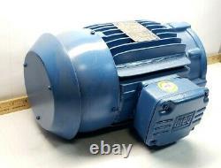 New Weg 2 HP Ac Electric Motor 3ph 460v 145tc Frame 7/8 Shaft 00218ep3er145tc