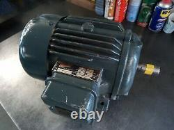 Newman Electric Motor 3 Phase 2 Pole