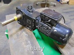 Nord 1 HP Electric Motor and Gearbox Speed Reducer 11 RPM 208v 360v 1.5