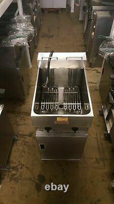 Original Valentine V400 Electric Fryer Single Tank Twin Basket Three phase 15KW
