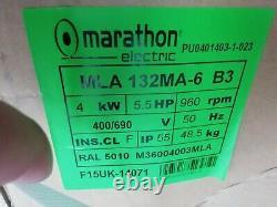 Regal Beloit Marathon 4kw (5.4hp) Three Phase Electric Motor Ac 400v/690v