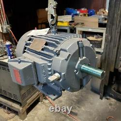 Reliance 10 HP Electric Ac Motor 230/460 Vac 1750 RPM 215tz Frame 3 Phase