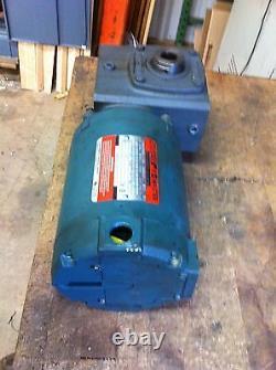 Reliance Electric P56x1338w 3ph 1/2 HP 1725 RPM Motor 230/460v 30rpm Drive