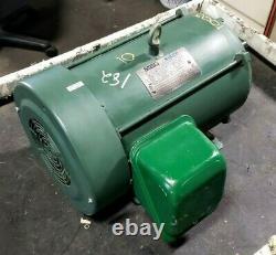 Reliance Sabre 10 HP Ac Electric Motor 230/460 Vac 3ph 215t 1755 RPM P21s3027