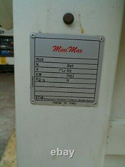 SCM Mini Max S45 3Phase Band Saw