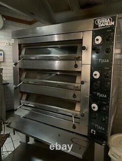 SVEBA DAHLEN DC-32P THREE PHASE ELECTRIC PIZZA OVEN with STAND BARGAIN