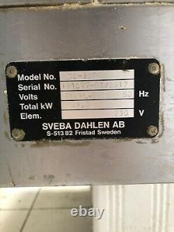 SVEBA DAHLEN DC-32P Three Phase Electric Pizza Oven With Stand