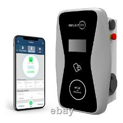 Smart Three Phase Electric Car Charger EV PHEV Charge Point 22kw / 32amp Output