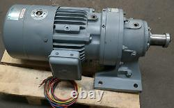 Sumitomo Cyclo 2 Speed 2.2kW 1.1kW Electric Motor Brake Gearbox Straight Drive