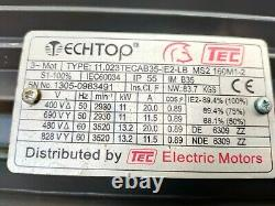 TECHTOP, 3 phases electric motor, from 11-13.2 KW, form 2930-3520 r/min
