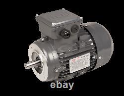 TEC Three Phase Electric Motor, 3kw, 4HP, Flange Mounted, (B14), 3000 rpm 2 pol