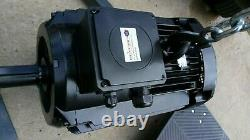 TEE Electric Motor, 18.5 KW (25) HP, 3 Phase, 4 pole