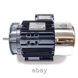 Techtop CB3-AL-TF-56HC-4-B-D-2 Cobra Electric Motor, 2HP, 1800RPM, 230/460V
