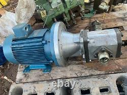 Teco 3 Phase Electric Induction Motor 5.5 kW 1440 RPM