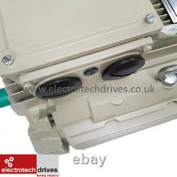Teco 55kw 75HP Three (3) Phase Electric Motor 1400 RPM 4 Pole 400V IE2
