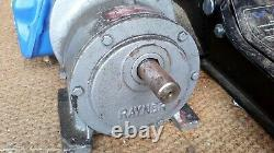 Three Phase Argus 55 Brook Electric Motor with Peter Rayner Gearbox 550w 41RPM