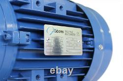 Three Phase Squirrel Cage Electric Motor 1.5 kW 2-pole 3000 rpm 50 Hz 400 V