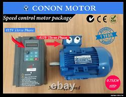 Three Phase varaible frequency drive with Electric motor speed control package