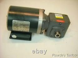 Used Reliance Electric 1/4 HP P56X1331 Motor with Boston Series 700 GearBox