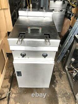 Valentine Evo400 Electric Fryer, single Tank, Double Basket, Three Phase