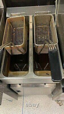Valentine Twin Tank Electric Three Phase Chips Fryer