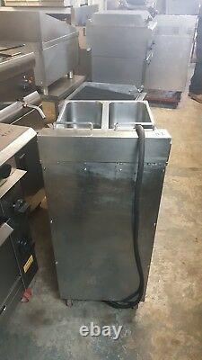Valentine V2200 Electric Fryer Twin Tank 2 Basket Three Phase Fryer