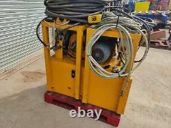 Voith Hydraulic Power pack unit pump 210 BAR 30 L. P. M 11KW three phase