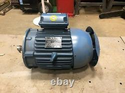 WEG W22 5HP Electric Motor 3Ph 208-230/460V 1755 RPM 00518ET3ER184TC-W22. NEW